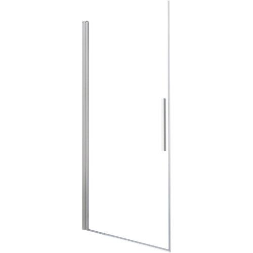 Mampara batiente cool life transparente perfil cromado 70x200 cm
