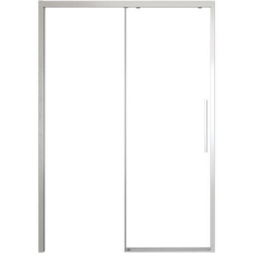 Mampara corredera cool free transparente perfil cromado 156x200 cm