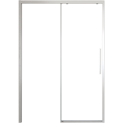 Mampara corredera cool free transparente perfil cromado 116x200 cm