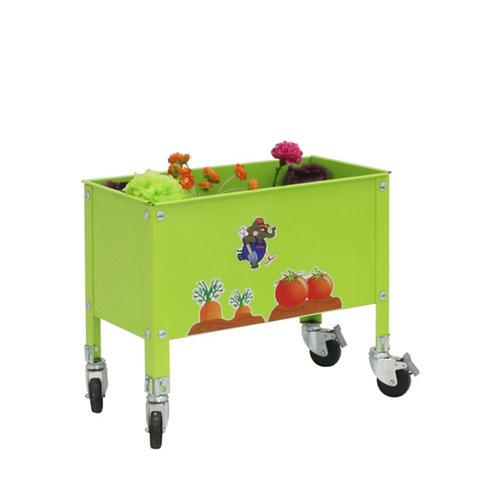 Huerto verde para niños con ruedas 52,5x70