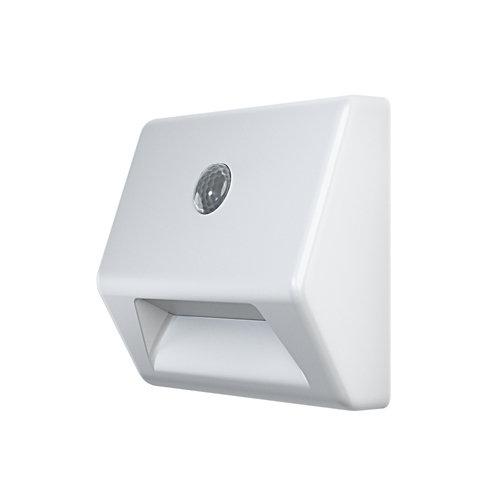 Luz led a pilas con sensor stair 0.3w blanca