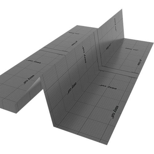 Base aislante axton de 1,5 mm de grosor
