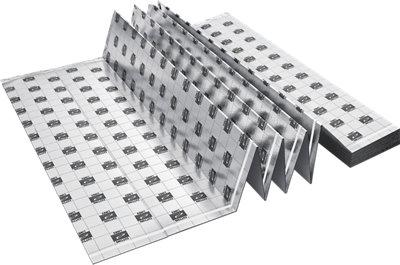 Base aislante AXTON de 3 mm de grosor con capa antihumedad