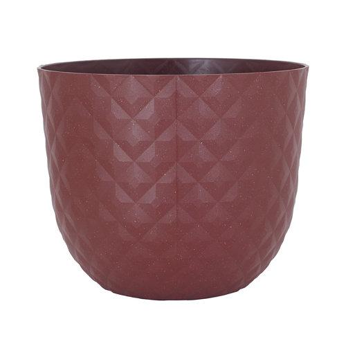 Maceta redonda havana tropical arcilla 50x50x41,5cm