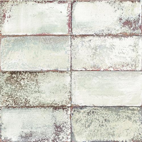 Ceramica cocinas baños/atelier/mainzu/blanco granilla 15x30
