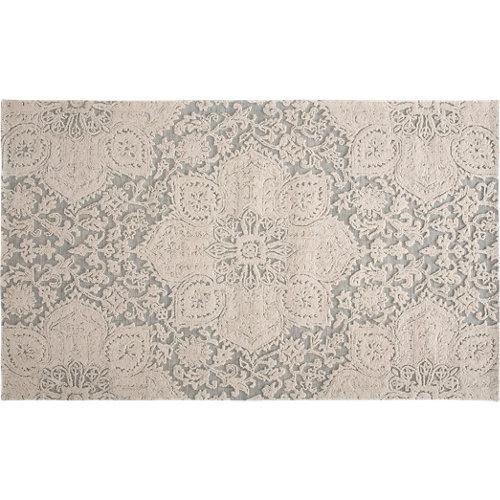 Alfombra gris lana luxuri light 160 x 230cm