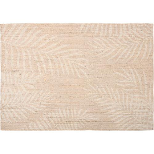 Alfombra beige yute areca 160 x 230cm