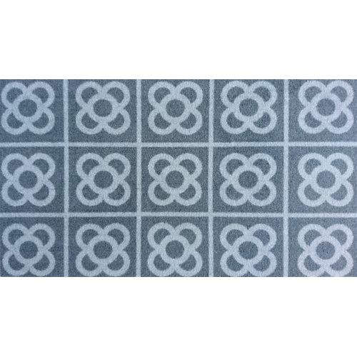 Felpudo gris de 40 x70 cm