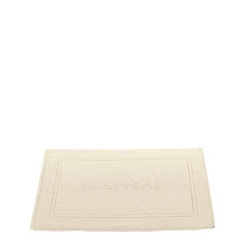 Alfombra baño alfombra baño naf naf rectangular beige 50x80 cm