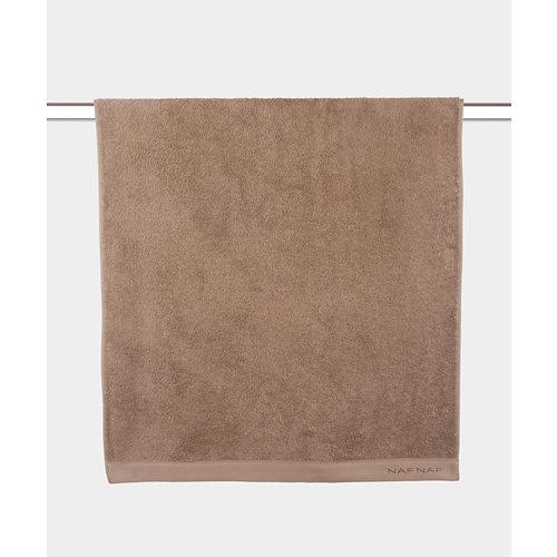 Toalla de algodón marrón 100 x 150 cm