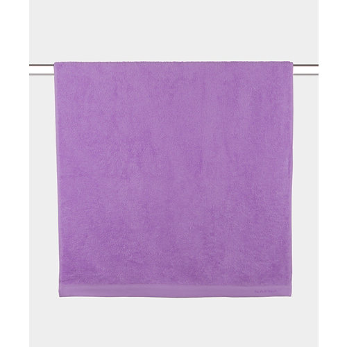 Toalla de algodón violeta 100 x 150 cm