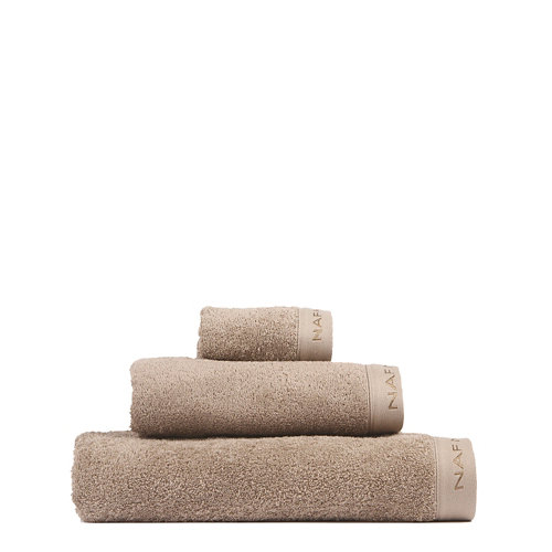 Set baño naf naf casual 30x50+50x100+70x140 cm marron