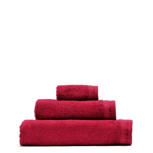 Set baño naf naf casual 30x50+50x100+70x140 cm burdeos