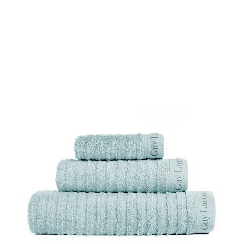 Set baño guy laroche palace 30x50+50x100+70x140 cm azul