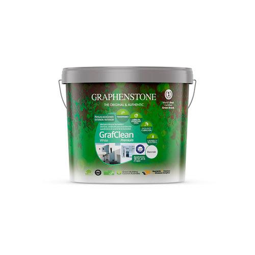 Pintura grafclean premium graphenstone 4l blanco