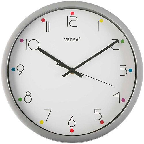 Reloj de pared redondo blanco quo de 30.5 cm