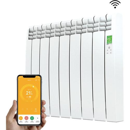 Emisor térmico de fluido rointe serie d 770w blanco