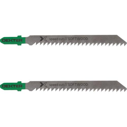 Pack 2 hojas de sierra para madera dexter