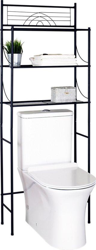 Estantería Baño 3 Baldas Dinamic Negro 59x148 5 Cm Leroy Merlin