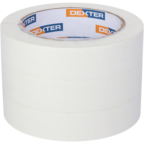 Pack de 3 cintas perfil recto dexter 50mx25mm
