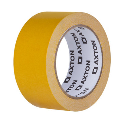 Cinta adhesiva doble cara AXTON 25mx48mm