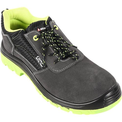 Zapato bajo serraje bellota t42 gris y verde