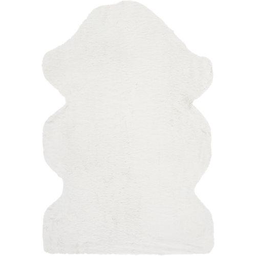 Alfombra fox blanca 60x90 cm