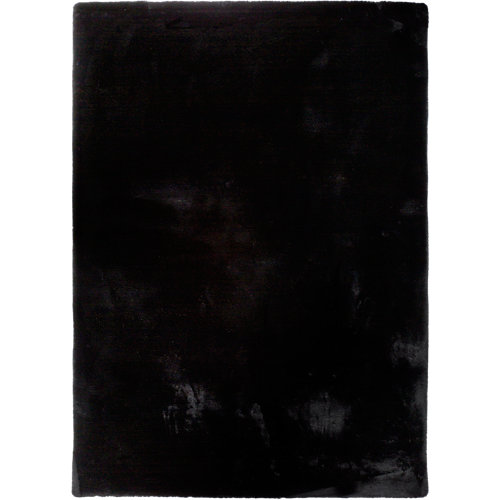 Alfombra fox negra 80x150 cm