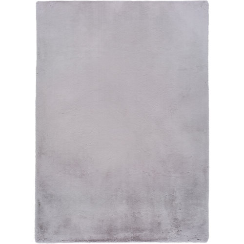 Alfombra fox gris plata 160 x 230 cm