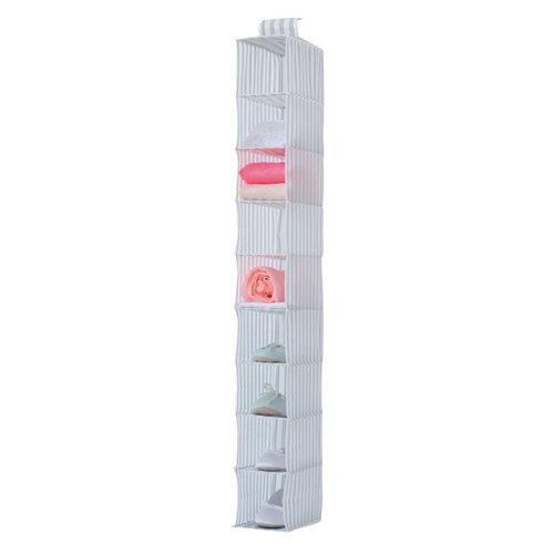 Estantería para colgar de polipropileno extraíble lavable de 15x15x30 cm