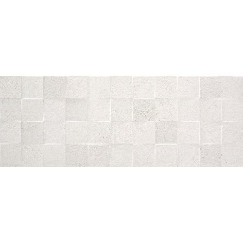 Azulejo cerámico homestone 33,3x90 white light