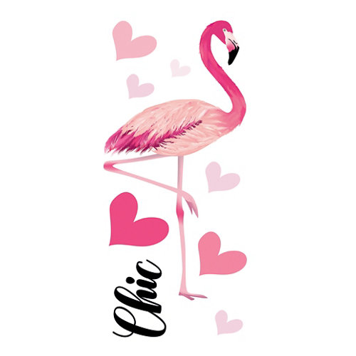 Sticker wa s flamingos adh. 59175 30x15