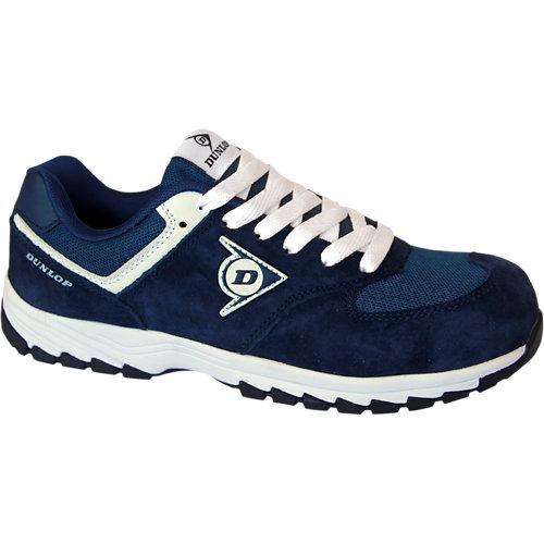Dunlop calzado de seguridad, deportivo s3 modelo flying arrow color azul - tall