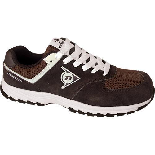 Dunlop calzado de seguridad, deportivo s3 modelo flying arrow color marrón - ta