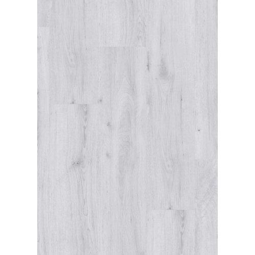 Lama vinílica clic gerflor intenso sunny white, estilo madera, color blanco
