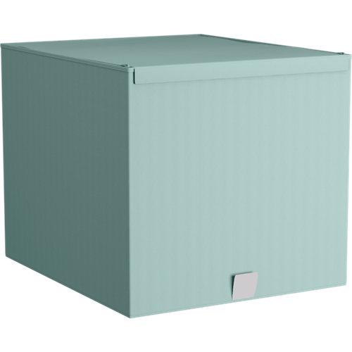 Spaceo home caja m aguamarina 42x36x33cm