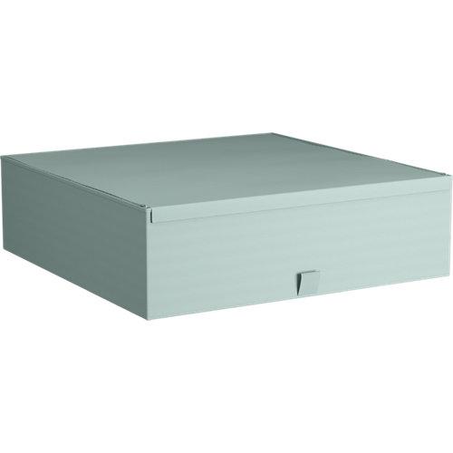 Caja de tela xl aguamarina 56x56x16,5cm spaceo home