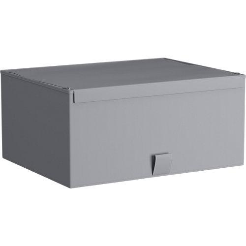 Spaceo home caja s gris claro 36x28x16,5cm