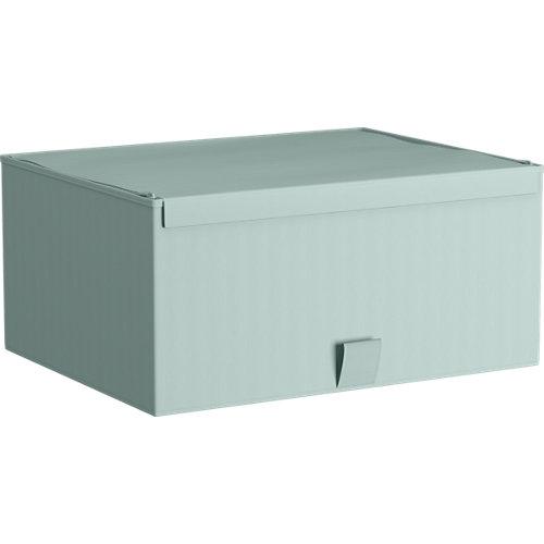 Spaceo home caja s aguamarina 36x28x16,5cm