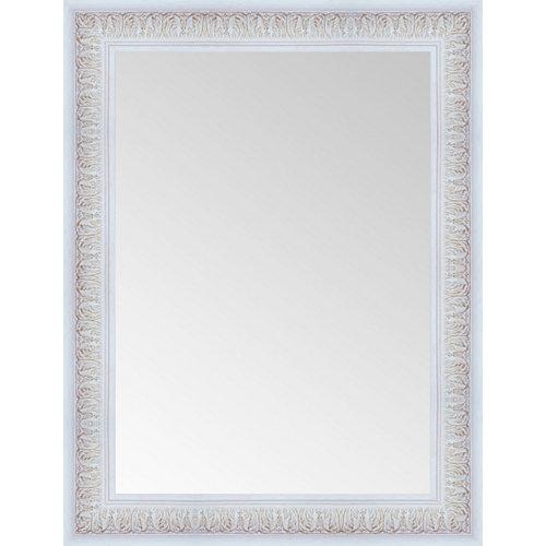 Espejo rectangular inca blanco 84 x 64 cm