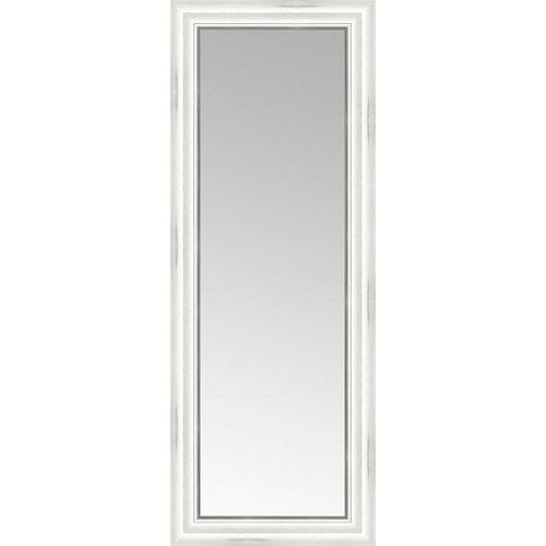 Espejo rectangular puntas blanco 149 x 59 cm