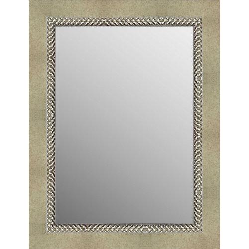 Espejo rectangular alhambra dorado 84 x 64 cm