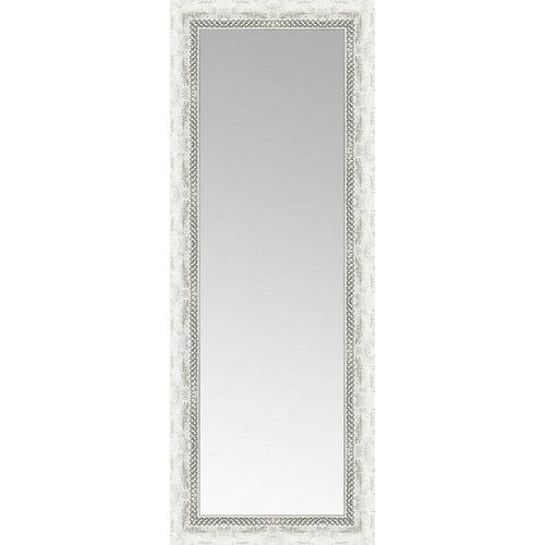 Espejo rectangular alhambra blanco 149 x 59 cm