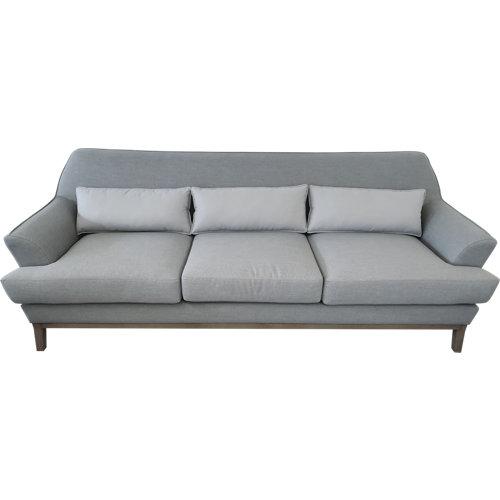 Sofá de exterior de aluminio tigris gris