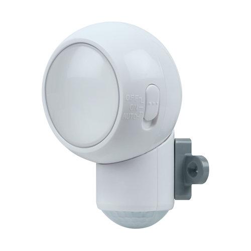 Luz led a pilas con sensor spylux 0.3w blanca