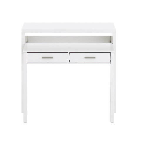 Mesa de consola blanco 87.5 x 98,5 x 36 cm