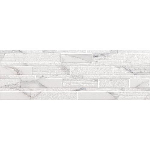 Revestimiento godina mosaic argenta white 30x90 rc