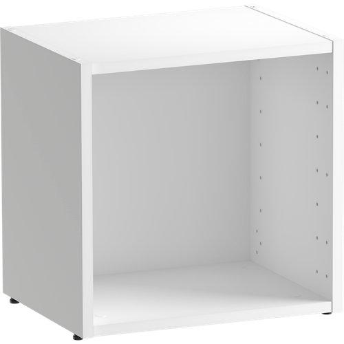 Librería estantería spaceo home blanco 40x40x30 cm
