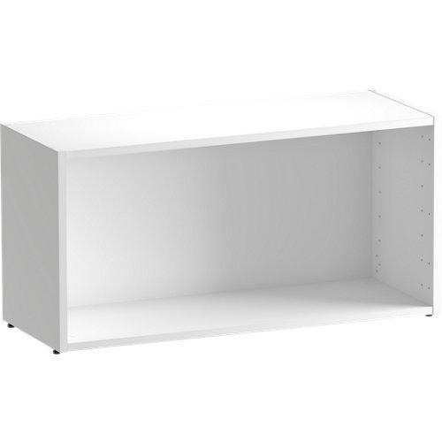 Librería estantería spaceo home blanco 80x40x30 cm
