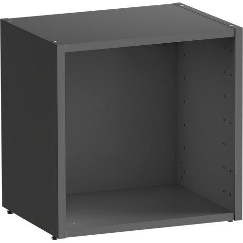 Librería estantería spaceo home gris 40x40x30 cm